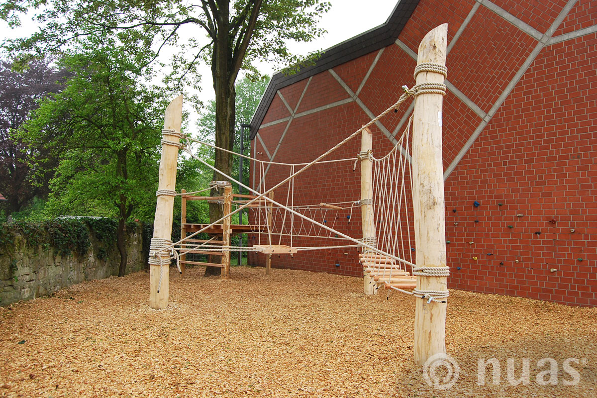 nuas Seillandschaft: Schulhof Ibbenbüren