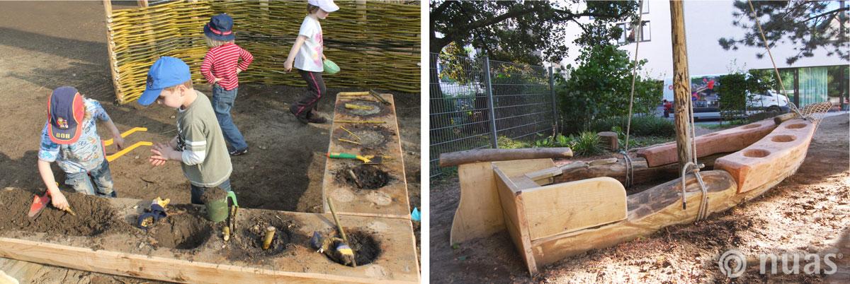 nuas Kindergarten Schule: Kochen an Land und auf See
