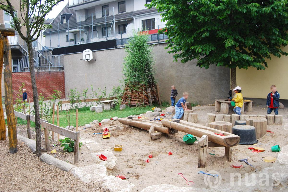 nuas Spiellandschaft Wasserspiellandschaft