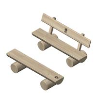Stammholzbänke Kinder / Erwachsene - nuas® Verkauf Robinienprodukte