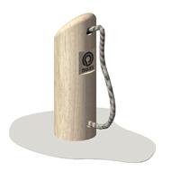 Holzzapfsäule / Tankstelle- nuas® Verkauf Robinienprodukte